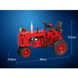 traktor - rozměry