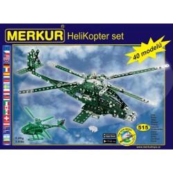 Helikoptér set (stavebnice...